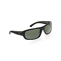 Ray-Ban - Black RB4166 rectangle sunglasses