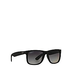 Ray-Ban - Black rectangle 'RB4165 justin' sunglasses