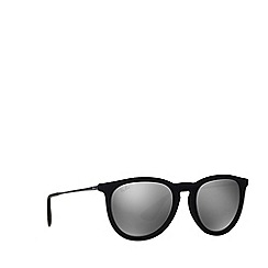 Ray-Ban - Velvet black 'Erika' pilot RB4171 sunglasses