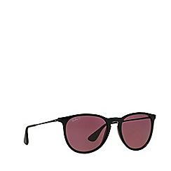 Ray-Ban - Black 'Erika' pilot RB4171 sunglasses
