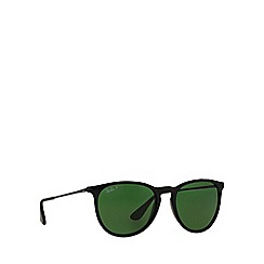 Ray-Ban - Black aviator 'RB4171 erika' sunglasses