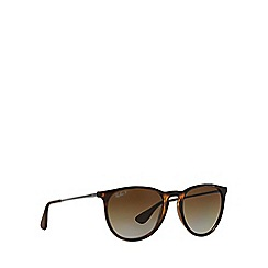 Ray-Ban - Brown aviator 'RB4171 erika' sunglasses