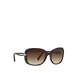 Prada - Brown PR08OS square sunglasses