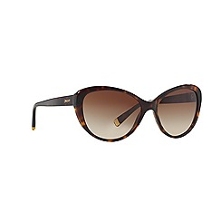 DKNY - Dark tortoise cat eye DY4084 sunglasses