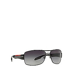 Prada Linea Rossa - Black rectangle '0PS53NS' sunglasses