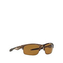 Oakley - Brown rectangle '0OO9164' sunglasses