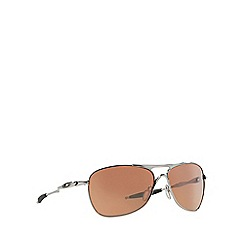 Oakley - Silver d-frame 0OO4060 sunglasses