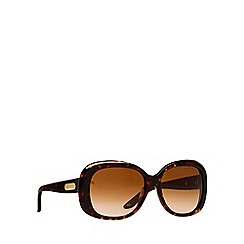 Ralph Lauren - Brown RL8087 square sunglasses