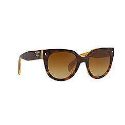 Prada - Brown round PR 17OS sunglasses
