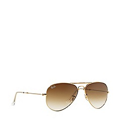 Ray-Ban - Gold 'Aviator Folding' RB3479 pilot sunglasses