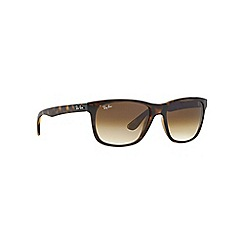 Ray-Ban - Brown square '0RB4181' sunglasses