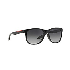 Prada Linea Rossa - Black rectangle '0PS03OS' sunglasses
