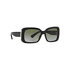 Ralph Lauren - Black rectangle '0RL8092' sunglasses