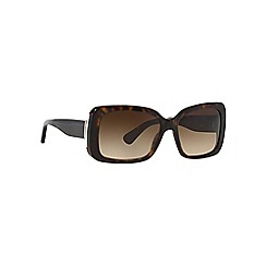 Ralph Lauren - Brown RL8092 rectangle sunglasses