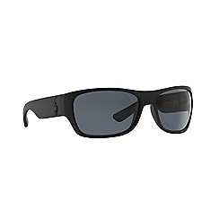 Ralph Lauren - Black rectangle PH4074 sunglasses