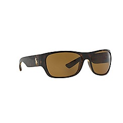 Polo Ralph Lauren - Brown rectangle '0PH40740' sunglasses