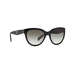 Prada - Black round PR 05PS sunglasses