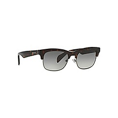 Prada - Brown cat eye PR 11PS sunglasses