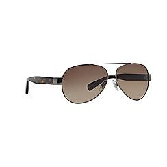 Dolce & Gabbana - Grey pilot '0DG2118P' sunglasses