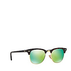 Ray-Ban - Havana 'Clubmaster' RB3016 square sunglasses