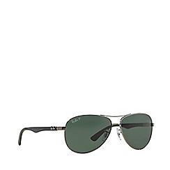 Ray-Ban - Gunmetal RB8313 pilot sunglasses