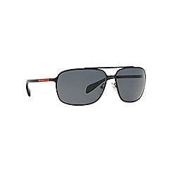 Prada Linea Rossa - Black rectangle '0PS54OS' sunglasses