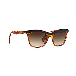 Prada - Brown cat eye PR 19PS sunglasses