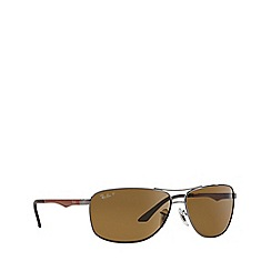 Ray-Ban - Grey pilot '0RB3506' sunglasses