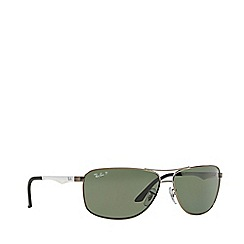 Ray-Ban - Grey RB3506 pilot sunglasses