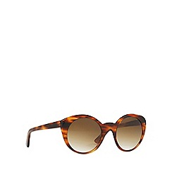 Ralph Lauren - Brown RL8104W cat eye sunglasses