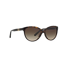 Dolce & Gabbana - Brown DG4171P round sunglasses