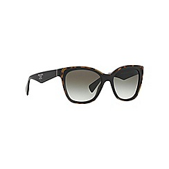 Prada - Black square PR 20PS sunglasses
