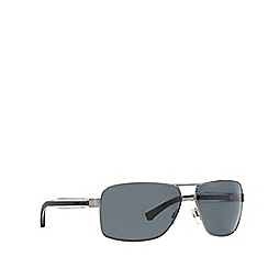Emporio Armani - Grey EA2001 rectangle sunglasses