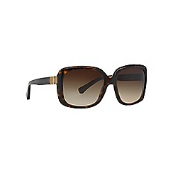 Emporio Armani - Brown EA4008 square sunglasses