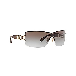 Coach - Gold square '0HC7018' sunglasses