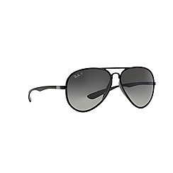 Ray-Ban - Black pilot '0RB4180' sunglasses