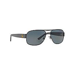 Polo Ralph Lauren - Grey PH3080 square sunglasses