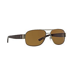 Polo Ralph Lauren - Grey square '0PH30800' sunglasses