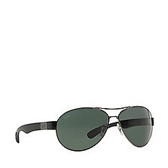Ray-Ban - Gunmetal RB3509 pilot sunglasses