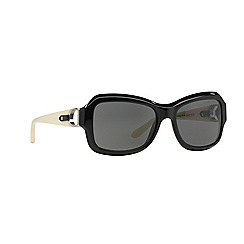 Ralph Lauren - Black rectangle RL8107Q sunglasses