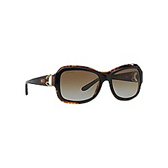 Ralph Lauren - Black rectangle '0RL8107Q' sunglasses