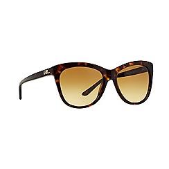Ralph Lauren - Brown cat eye RL8105 sunglasses