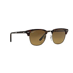 Ray-Ban - Brown clubmaster folding square RB2176 sunglasses