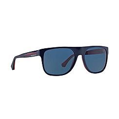 Emporio Armani - Blue square '0EA4014' sunglasses