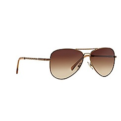 Ralph - Brown aviator RA4107 sunglasses