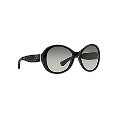 Ralph - Black RA5175 round sunglasses