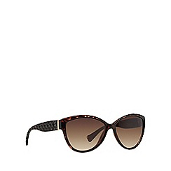 Ralph - Brown RA5176 cat eye sunglasses