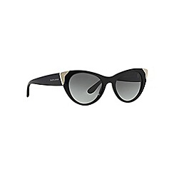 Ralph Lauren - Black RL8112 cat eye sunglasses