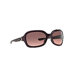 Oakley - Purple rectangle '0OO9198' sunglasses