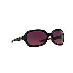 Oakley - Black rectangle 'Pulse' sunglasses